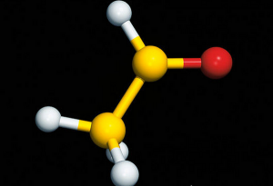 Скачать A7000128 Computer graphic of a molecule of ethanal SPL